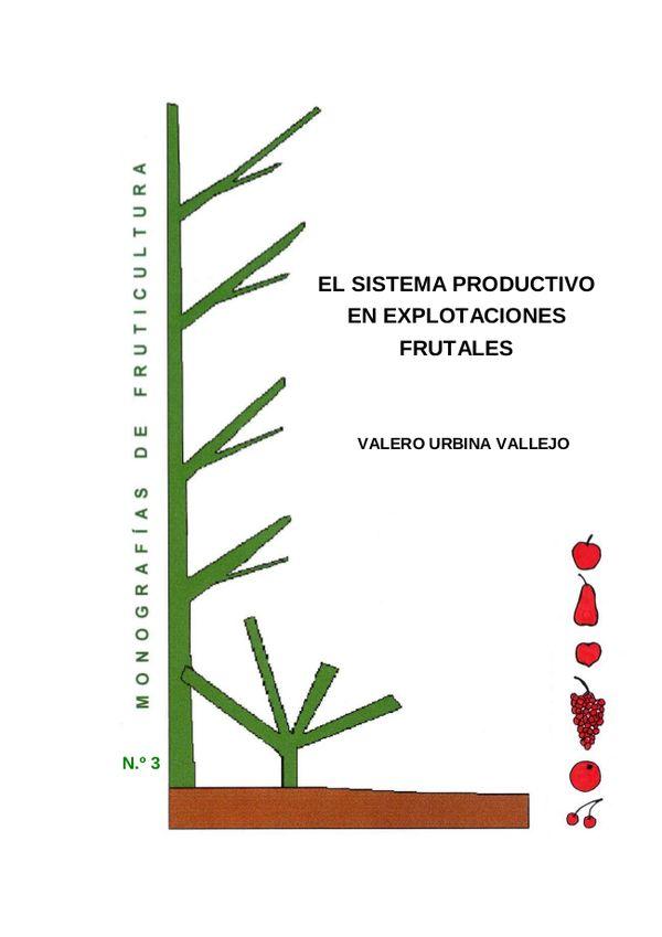 N.º 3. El sistema productivo en explotaciones frutales